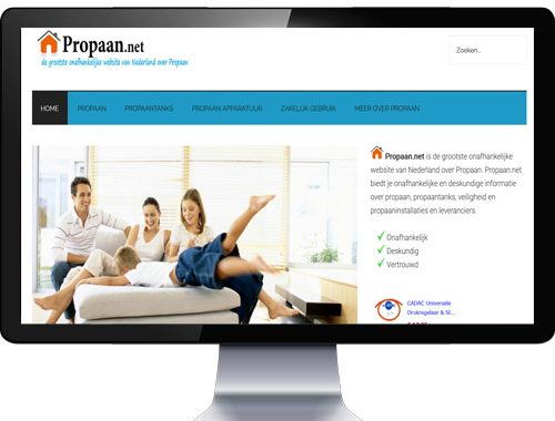 Propaan website