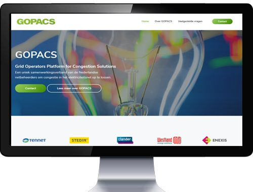 gopacs website gemaakt door coolcommotion - arnhem
